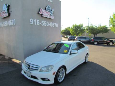 2008 Mercedes-Benz C-Class for sale at LIONS AUTO SALES in Sacramento CA