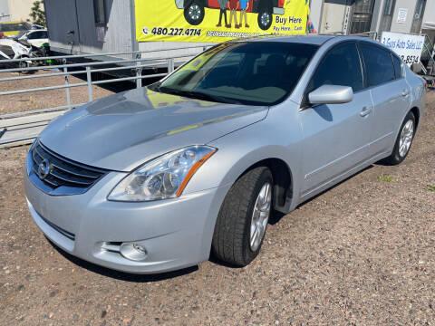 2010 Nissan Altima for sale at 3 Guys Auto Sales LLC in Phoenix AZ