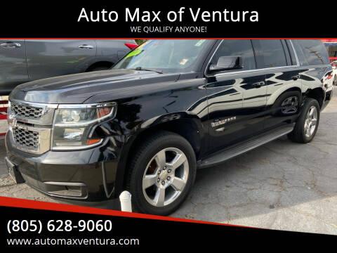 2015 Chevrolet Suburban for sale at Auto Max of Ventura in Ventura CA