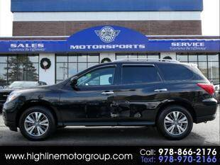 2017 Nissan Pathfinder for sale at Highline Group Motorsports in Lowell MA