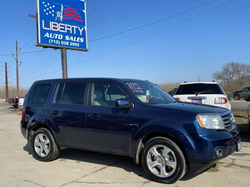 2013 Honda Pilot for sale at Liberty Auto Sales in Merrill IA