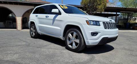 2015 Jeep Grand Cherokee for sale at FRANCIA MOTORS in El Paso TX