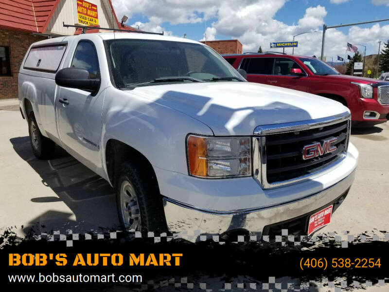 2008 GMC Sierra 1500 for sale at BOB'S AUTO MART in Lewistown MT