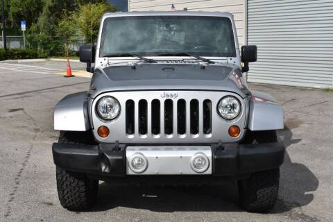 2013 Jeep Wrangler Unlimited for sale at Mix Autos in Orlando FL