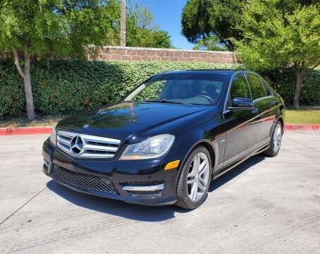 2012 Mercedes-Benz C-Class for sale at International Auto Sales in Garland TX
