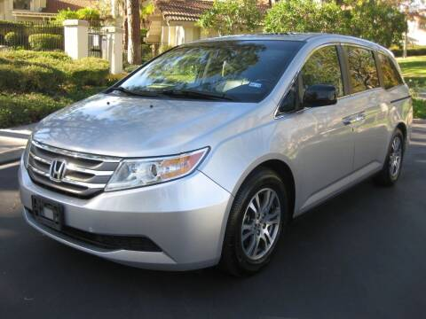 2013 Honda Odyssey for sale at E MOTORCARS in Fullerton CA