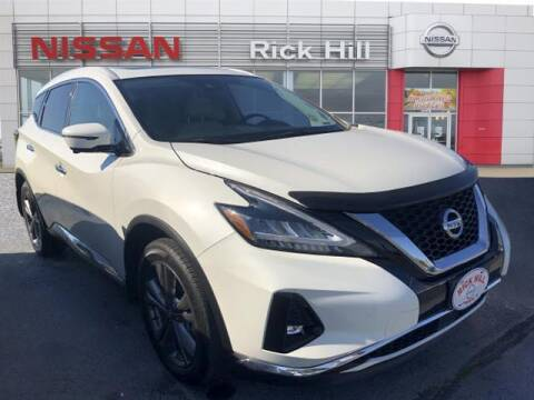 2020 Nissan Murano for sale at Rick Hill Auto Credit in Dyersburg TN