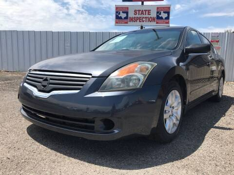2009 Nissan Altima for sale at Texas Country Auto Sales LLC in Austin TX