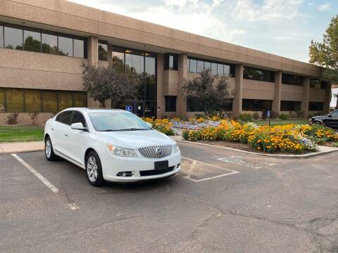 2011 Buick LaCrosse for sale at QUEST MOTORS in Englewood CO