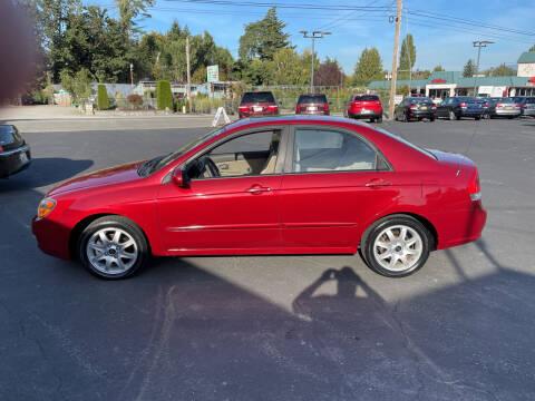 2009 Kia Spectra for sale at Westside Motors in Mount Vernon WA
