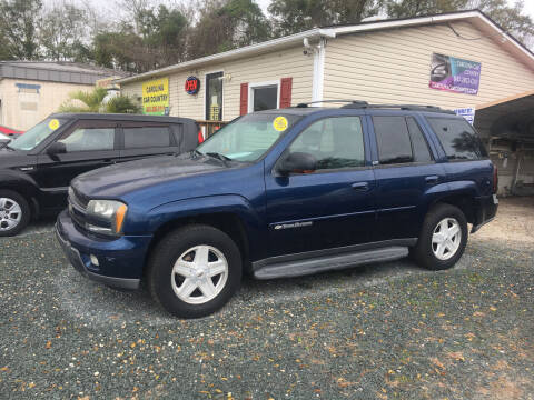 2003 Chevrolet TrailBlazer for sale at Carolina Car Country in Little River SC