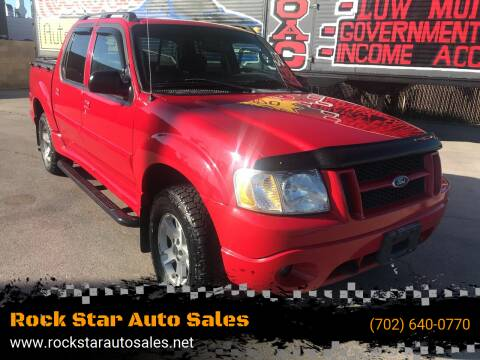 2005 Ford Explorer Sport Trac for sale at Rock Star Auto Sales in Las Vegas NV