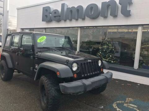 2007 Jeep Wrangler Unlimited for sale at BELMONT DODGE CHRYSLER JEEP RAM in Barnesville OH