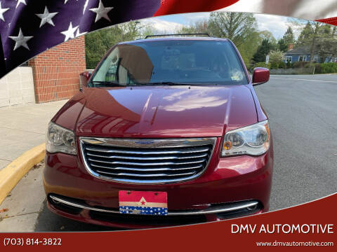 2012 Chrysler Town and Country for sale at DMV Automotive in Falls Church VA