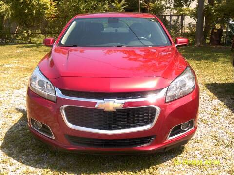 2014 Chevrolet Malibu for sale at DONNIE ROCKET USED CARS in Detroit MI