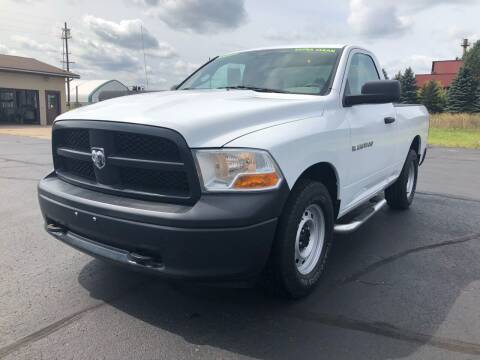 2012 RAM Ram Pickup 1500 for sale at Mike's Budget Auto Sales in Cadillac MI