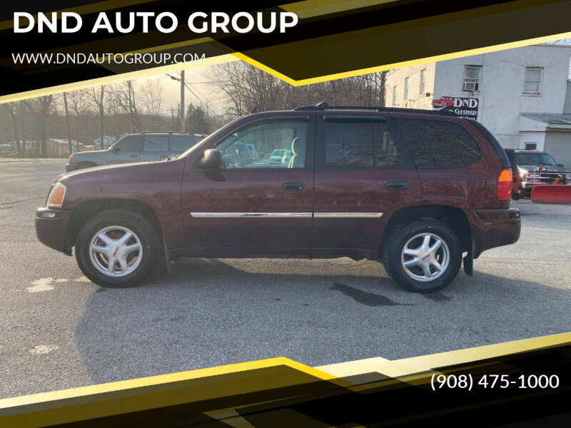 2007 GMC Envoy for sale at DND AUTO GROUP in Belvidere NJ