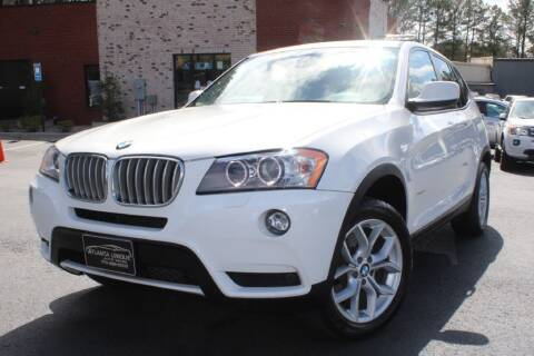 2014 BMW X3 for sale at Atlanta Unique Auto Sales in Norcross GA