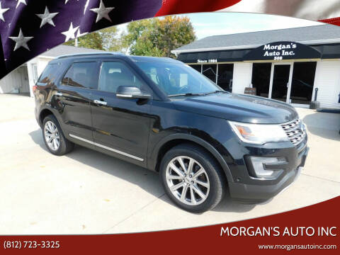 2017 Ford Explorer for sale at Morgan's Auto Inc in Paoli IN