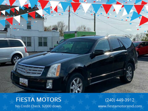2007 Cadillac SRX for sale at FIESTA MOTORS in Hagerstown MD