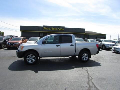 2008 Nissan Titan for sale at MIRA AUTO SALES in Cincinnati OH