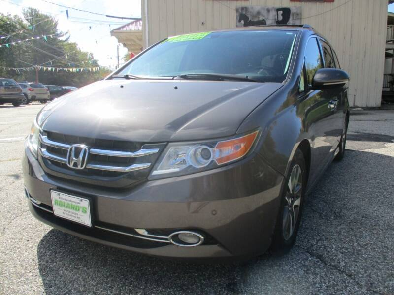 2014 Honda Odyssey for sale at Roland's Motor Sales in Alfred ME