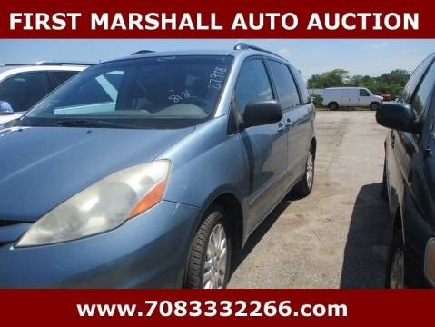 2009 Toyota Sienna for sale at First Marshall Auto Auction in Harvey IL