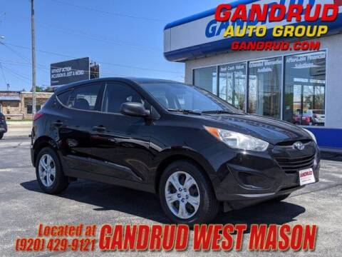 2010 Hyundai Tucson for sale at GANDRUD CHEVROLET in Green Bay WI