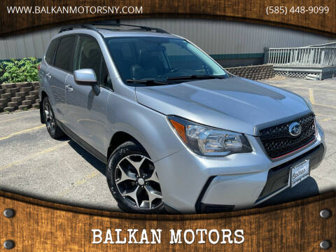 2014 Subaru Forester for sale at BALKAN MOTORS in East Rochester NY