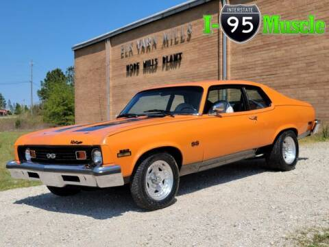 1973 Chevrolet Nova for sale at I-95 Muscle in Hope Mills NC
