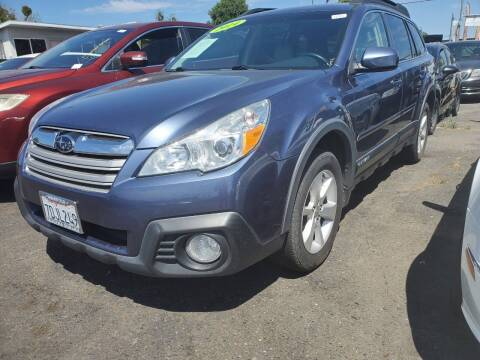 2014 Subaru Outback for sale at McHenry Auto Sales in Modesto CA