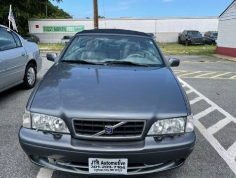 2004 Volvo C70 for sale at JTR Automotive Group in Cottage City MD
