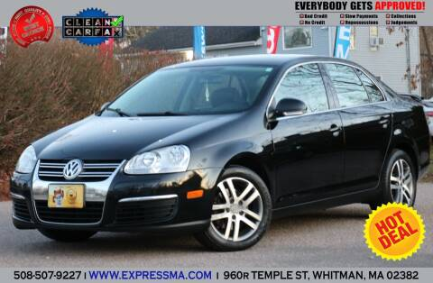 2006 Volkswagen Jetta for sale at Auto Sales Express in Whitman MA