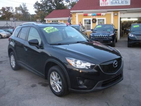 2013 Mazda CX-5 for sale at One Stop Auto Sales in North Attleboro MA