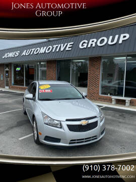 2011 Chevrolet Cruze for sale at Jones Automotive Group in Jacksonville NC