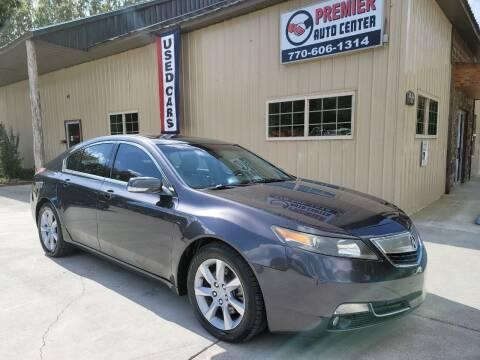 2012 Acura TL for sale at Premier Auto Center in Cartersville GA