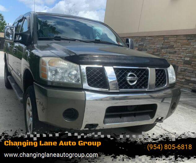 2005 Nissan Titan for sale in Davie, FL