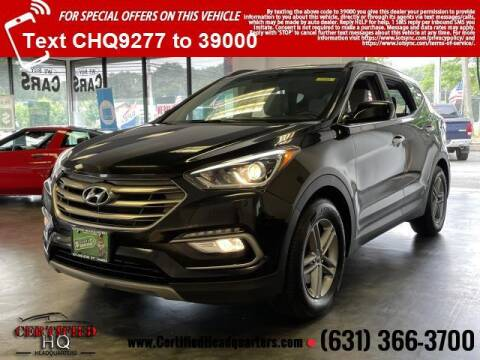 2017 Hyundai Santa Fe Sport for sale at CERTIFIED HEADQUARTERS in Saint James NY