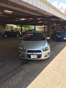 2015 Chevrolet Sonic for sale at Holders Auto Sales in Waco TX