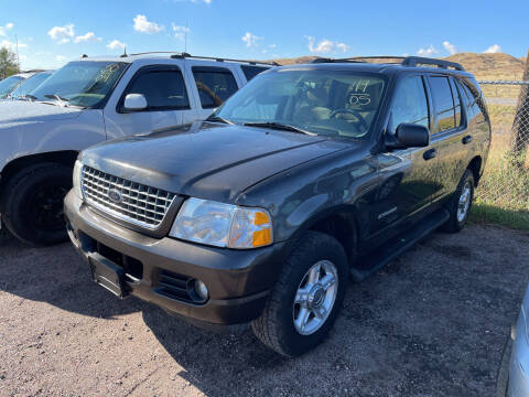 2005 Ford Explorer for sale at PYRAMID MOTORS - Fountain Lot in Fountain CO