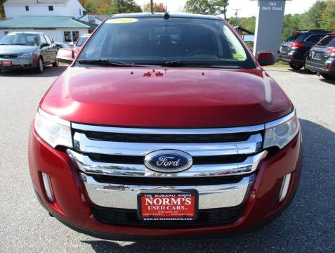 2013 Ford Edge for sale at NORM'S USED CARS INC - Trucks By Norm's in Wiscasset ME