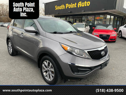2016 Kia Sportage for sale at South Point Auto Plaza, Inc. in Albany NY