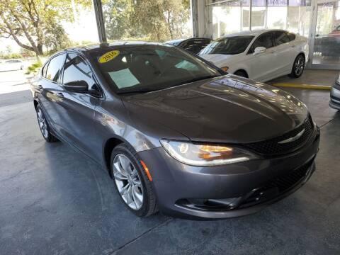 2016 Chrysler 200 for sale at Sac River Auto in Davis CA