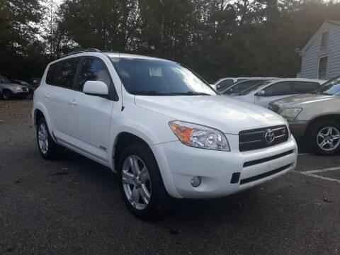 2007 Toyota RAV4 for sale at Select Luxury Motors in Cumming GA