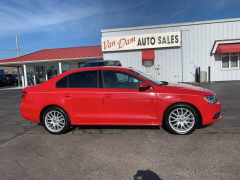 2012 Volkswagen Jetta for sale at Van Dam Auto Sales Inc. in Holland MI