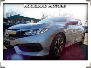 2017 Honda Civic for sale at Rockland Automall - Rockland Motors in West Nyack NY
