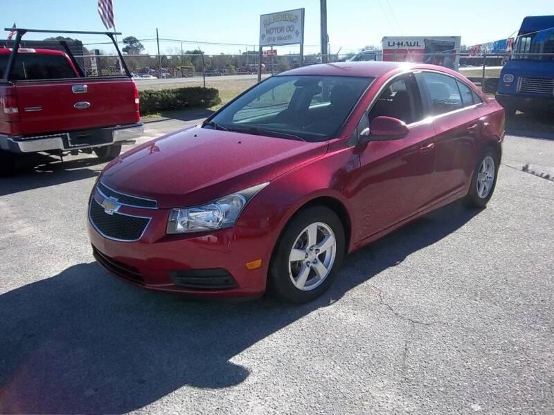 2012 Chevrolet Cruze for sale at Sanders Motor Company in Goldsboro NC