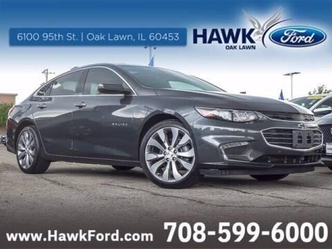 2017 Chevrolet Malibu for sale at Hawk Ford of Oak Lawn in Oak Lawn IL