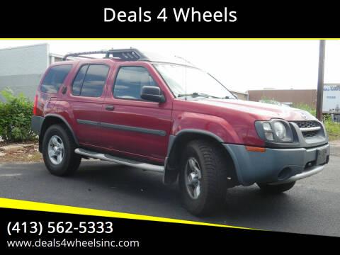 2004 Nissan Xterra for sale at Deals 4 Wheels in Westfield MA