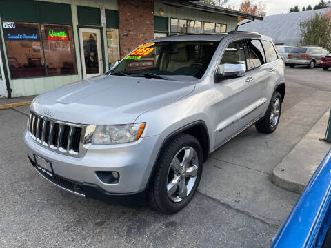2011 Jeep Grand Cherokee for sale at Low Auto Sales in Sedro Woolley WA